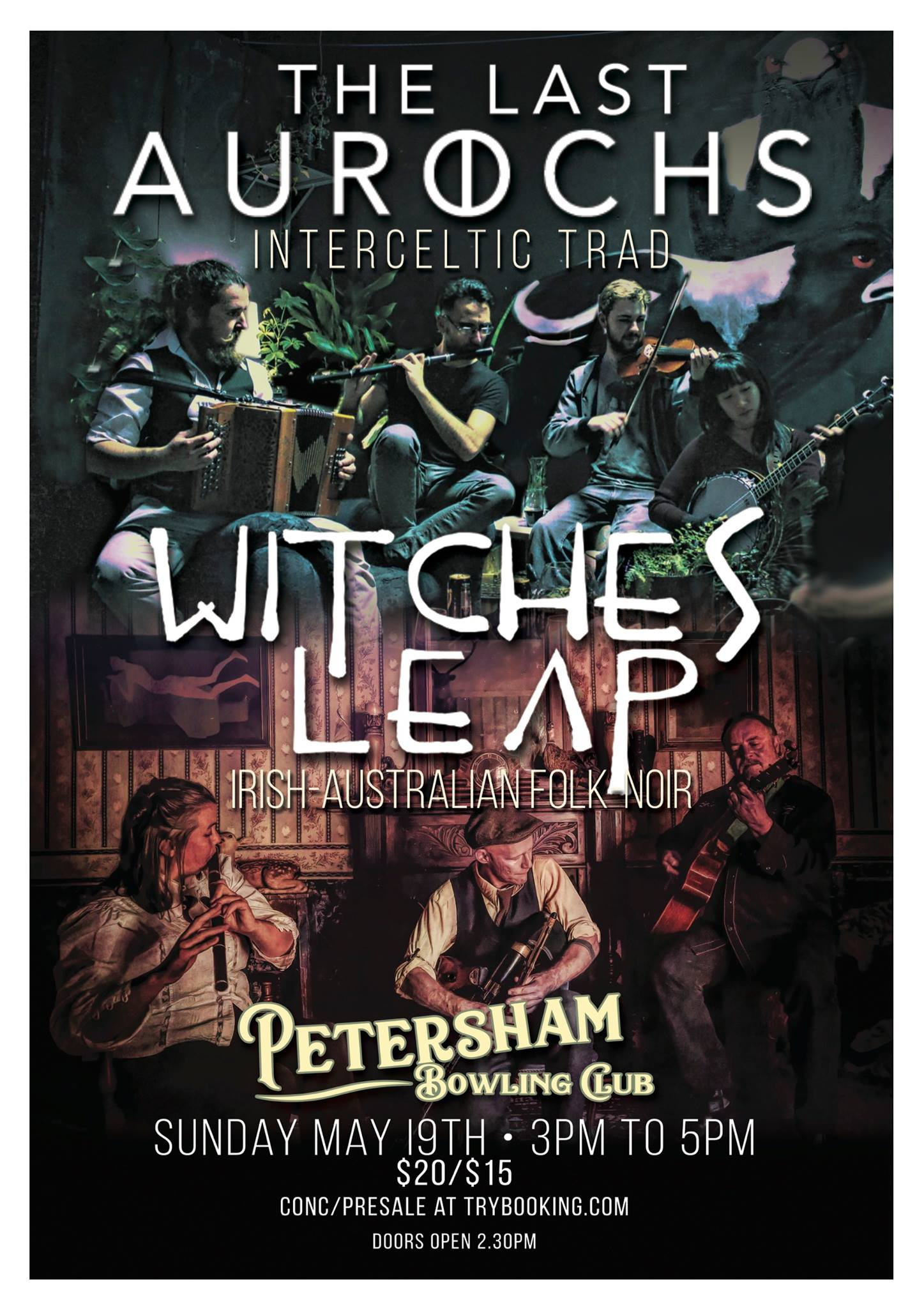 Live at Petersham Bowlo with Witches Leap | The Last Aurochs